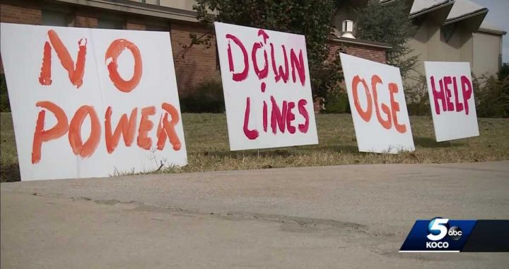 Thousands still without power 9 days after ice storms hit Oklahoma