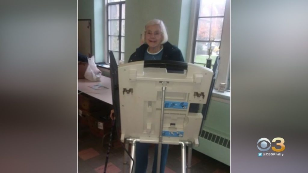 107-Year-Old Pennsylvania Woman Still Making Sure Voice Is Heard After 84 Years – CBS Philly